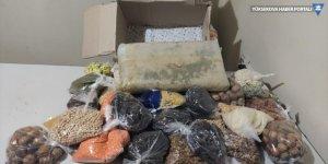 Gıda kolisinde 10 kilo 120 gram eroin ele geçirildi