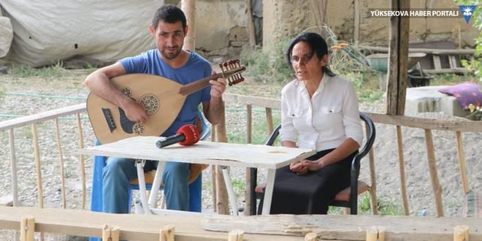 Yüksekova: Görme engelli kardeşlerin müzik tutkusu