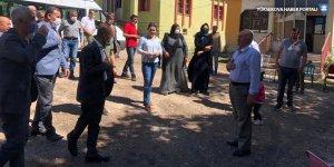 HDP heyetinden Esendere bölgesine ziyaret