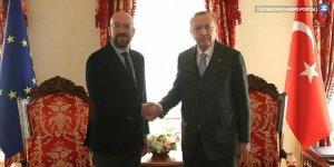 Cumhurbaşkanı Erdoğan, AB Konseyi Başkanı Michel'le telefonda görüştü