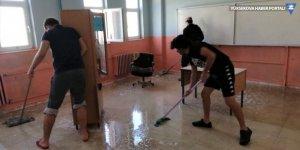 Van'da öğretmenler okullarını eğitim yılına hazırladı