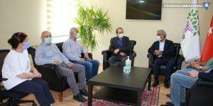 HDP Genel Merkezi'ne dayanışma ziyaretleri