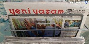 Yeni Yaşam gazetesinin internet sitesine erişim engellendi