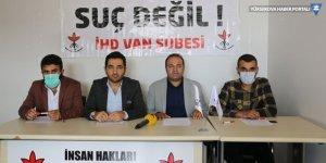 İHD Van Şubesi: Gözaltındaki gazetecileri serbest bırakın
