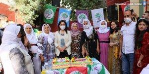 Cizre'de HDP'nin 8'inci kuruluş yıldönümü kutlandı