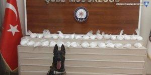 Van'da 15 kilo 877 gram sentetik uyuşturucu ele geçirildi