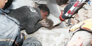 3 yaşındaki Ayda 91 saat sonra Rıza Bey Apartmanı enkazından sağ olarak çıkarıldı
