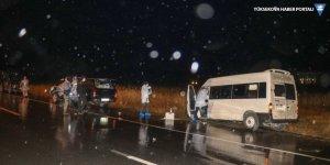 Van'da göçmenleri taşıyan minibüs otobüse çarptı: 1 ölü, 7 yaralı