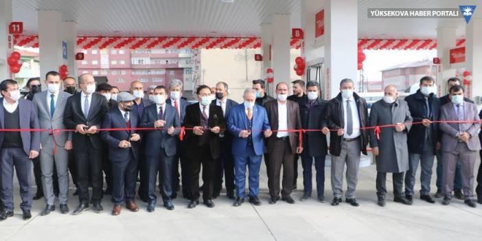 Yüksekova'da Total Benzin İstasyonu açıldı