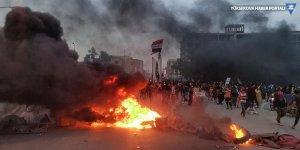 Irak'ta Sadr yanlıları göstericilerle çatıştı: 4 ölü, 70 yaralı