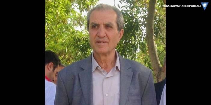 Yüksekova'da vefat: Kemal Karay vefat etti