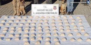 Yüksekova'da 48 kilogram eroin ele geçirildi
