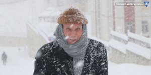Yüksekova'da kar yağışı (Foto Galeri)