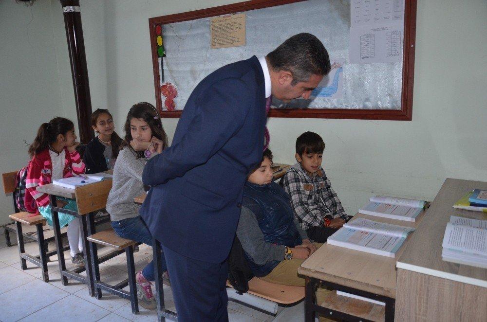 Milli Eğitim Müdürü Canlı'dan Dağlıca'daki okula ziyaret