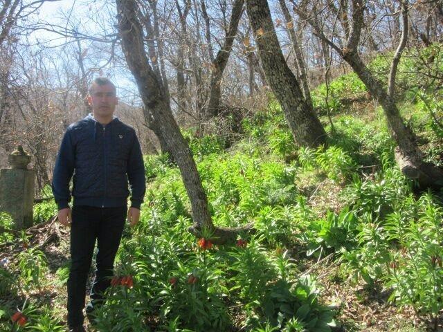 Bitlis'te baharın müjdecisi ters laleler açtı