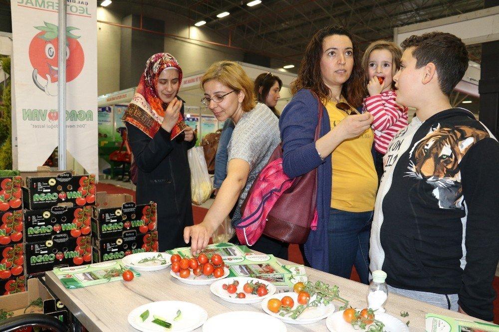 8. Doğu Anadolu Tarım, Hayvancılık ve Gıda Fuarı start aldı