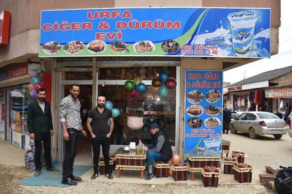 Yüksekova'da 2 yeni iş yeri açıldı