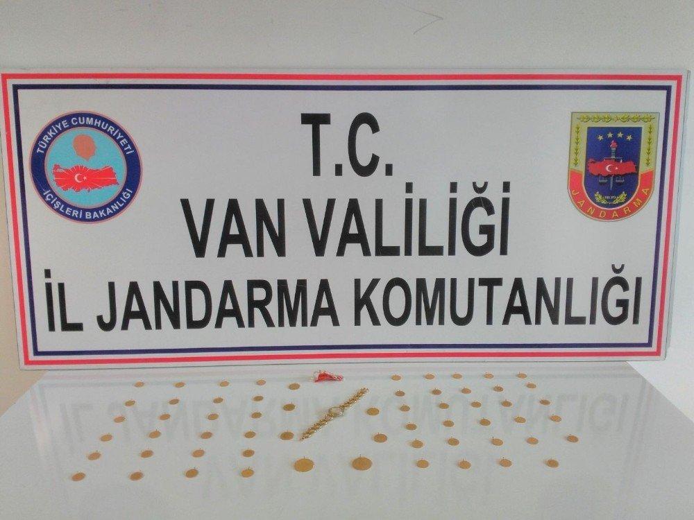 Van'da altın hırsızlığı