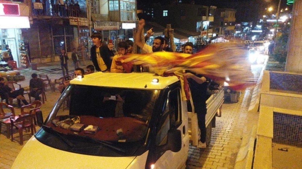 Şemdinli'de Galatasaray coşkuşu