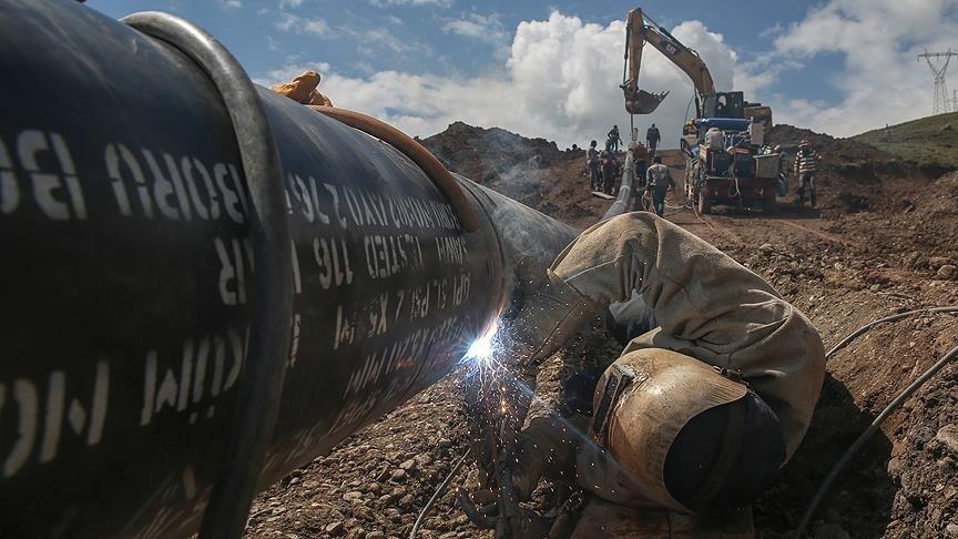 Hakkari için doğalgaz çalışmaları sürüyor