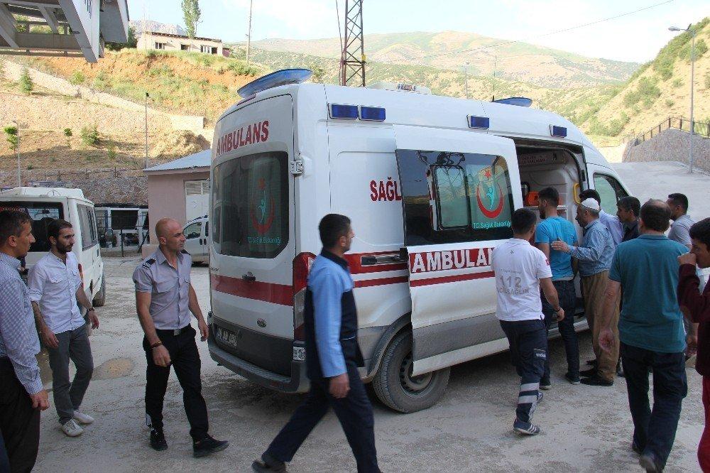 Şemdinli'de trafik kazası: 12 yaralı