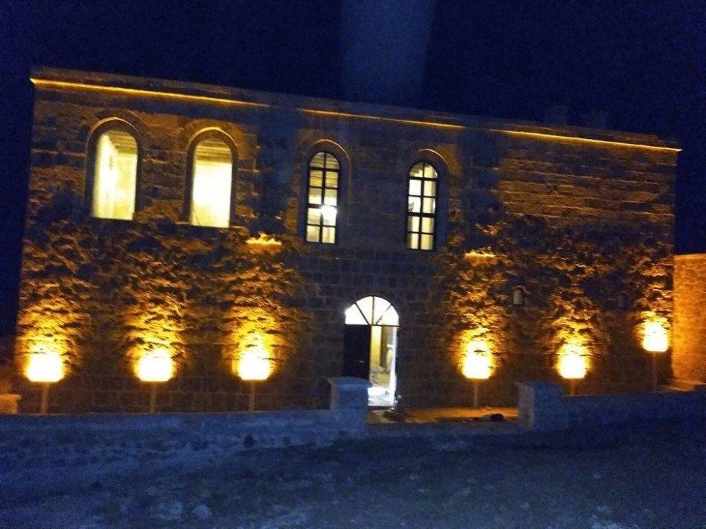 Kayme sarayında restorasyon tamamlandı