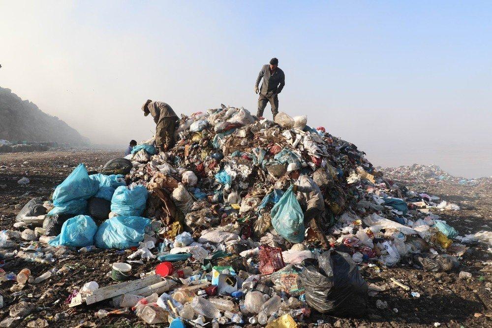 Herkes için çöp, onlar için geçim kaynağı