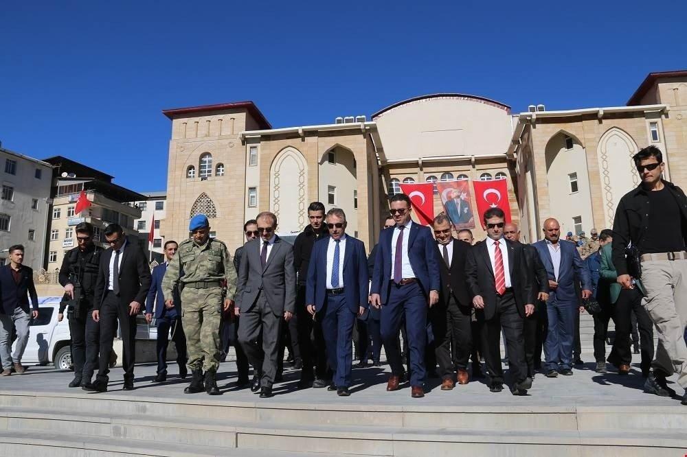 Hakkari'de 29 Ekim Cumhuriyet Bayramı