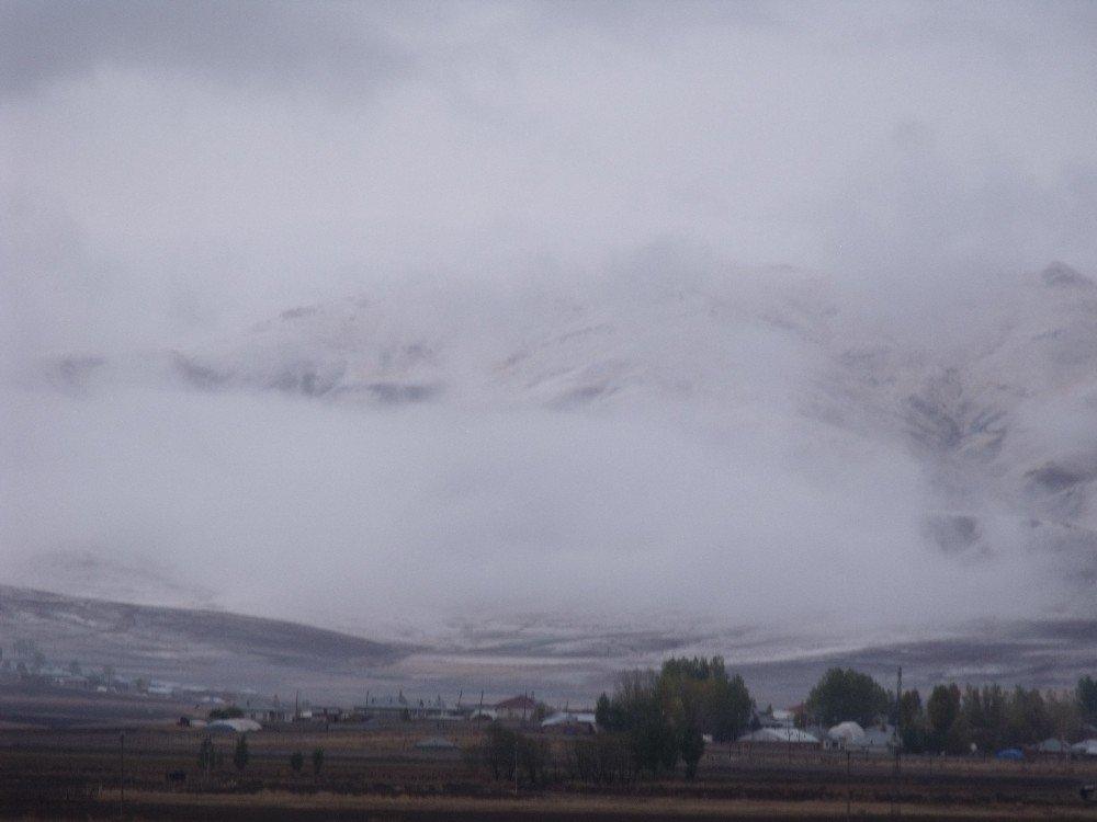 Özalp ve Saray'da kar yağışı