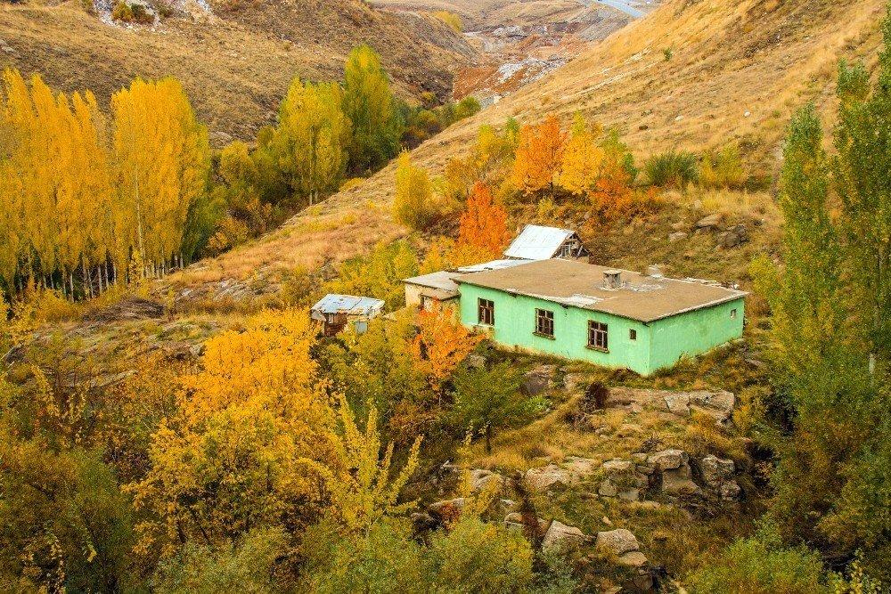 Bitlis'te sonbahar manzaraları