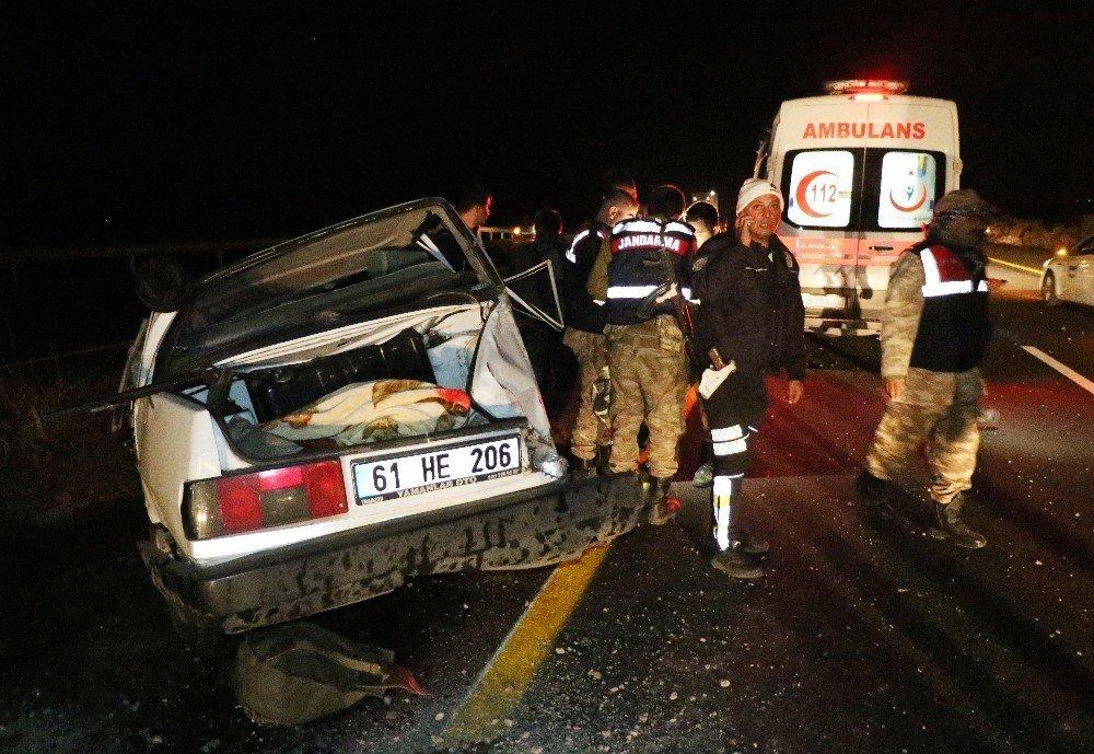 Diyarbakır'da kaza: 2'si ağır 7 kişi yaralandı