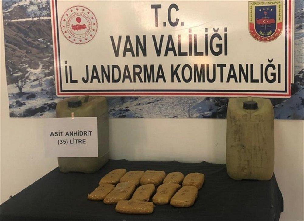 Van'da 4 kilo 687 gram uyuşturucu ele geçirildi