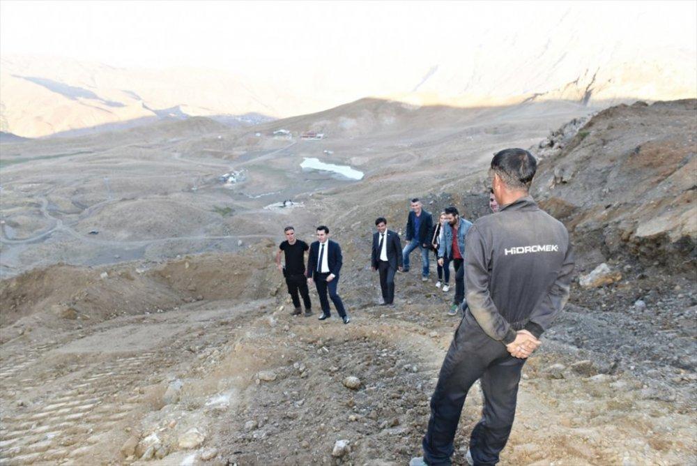 Genel Sekreter Duruk, kayak merkezindeki çalışmaları inceledi