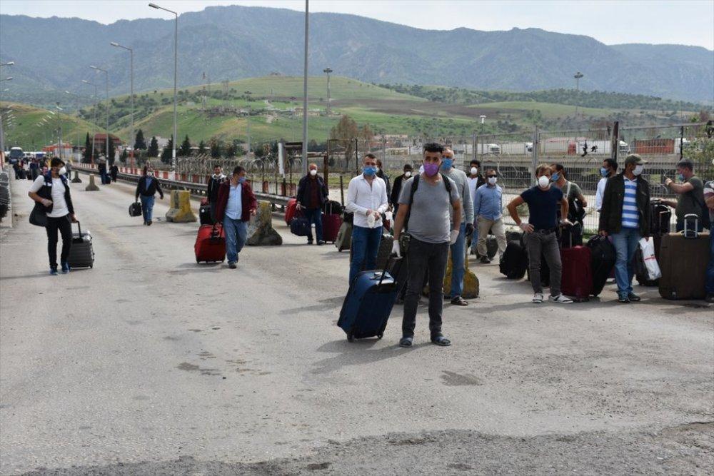 Irak'tan 135 vatandaş Türkiye'ye getirildi