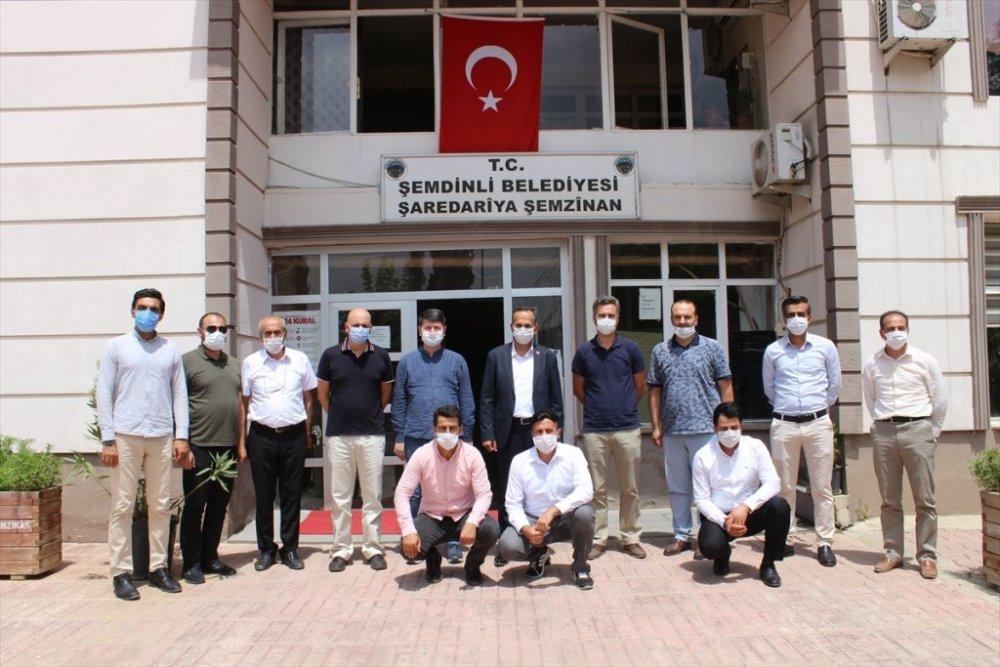 """Kocaeli Büyükşehir Belediyesinden Şemdinli'ye """"kardeş belediye"""" ziyareti"""