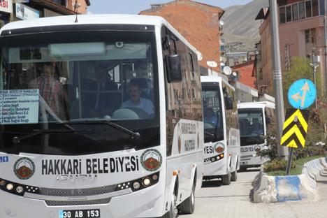 Hakkari Belediyesi 4 otob