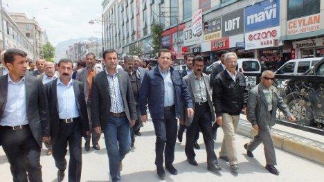 BDP'den Şehitler yürüyüşü