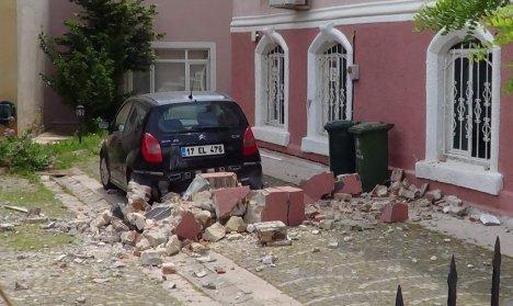 Çanakkale'de depremin bilançosu
