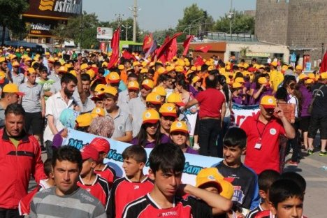 Diyarbakır'da spor festivali