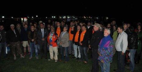 Dostluk Ve Barış Rallicileri Soma İçin Saygı Duruşunda Bulundu