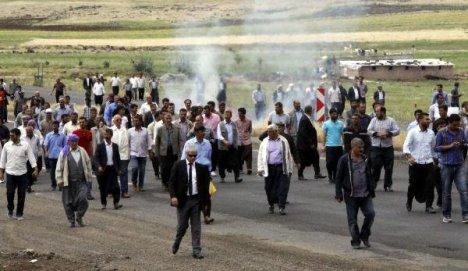 Elektrik kesintisi protestosu