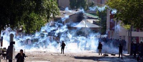 Erzurum'da lice eylemi