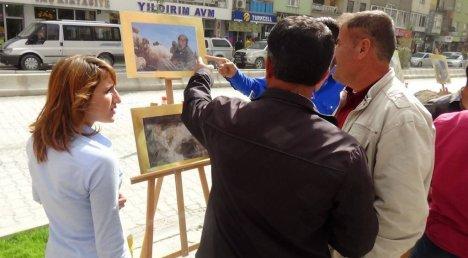 Hakkari'de 'Soma Faciası' Sergisi