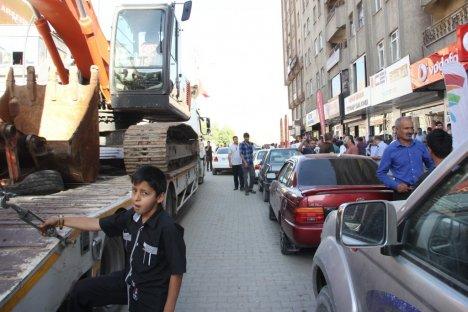 Hakkari'de trafik sorunu
