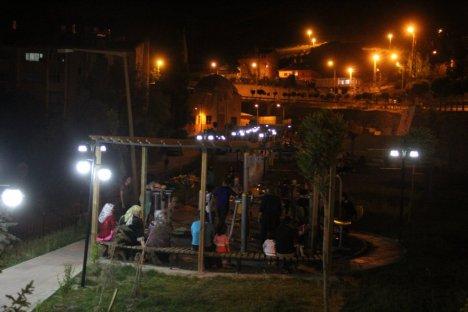 Hakkari'nin İlk Kadın Parkına Yoğun İlgi