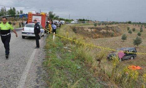 Hastane Yolunda Kaza: 1 Ölü, 1 Yaralı