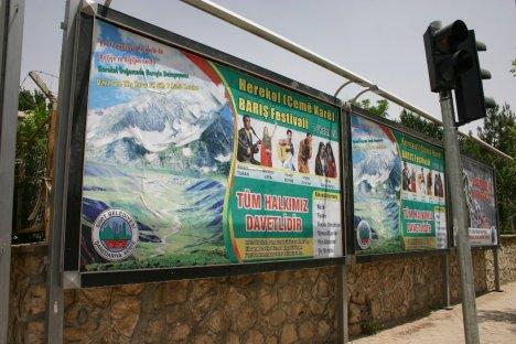 Herekol'da Barış Festivali Hazırlığı
