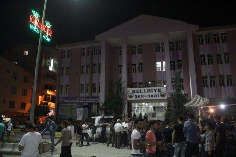 İftar sonrası Hakkari şehir merkezi