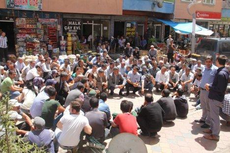 Iğdır'da Lice Olayları Protesto Edildi