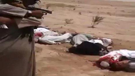 IŞİD Katliama doymuyor